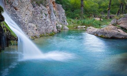 Teruel: 1 o 2 noches para 2 con desayuno, detalle con opción a cena y/o entrada a parque en Hotel Villa de Utrillas