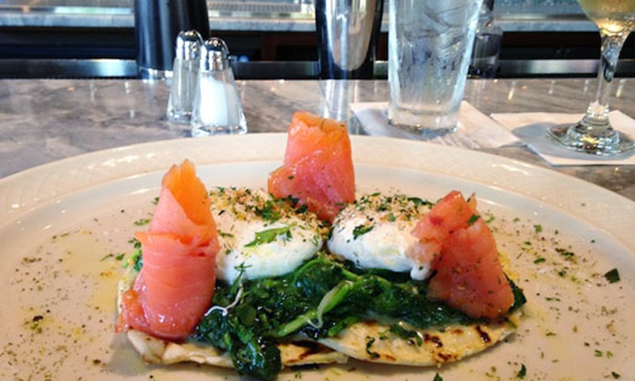 The Hall at MP - The Hall at MP: Brunch Entrees, Dessert, and Bottomless Drinks for Two or Four at The Hall at MP (35% Off)
