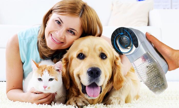 Handheld Pet Hair Vacuum - One ($15) or Two Vacuums ($25)