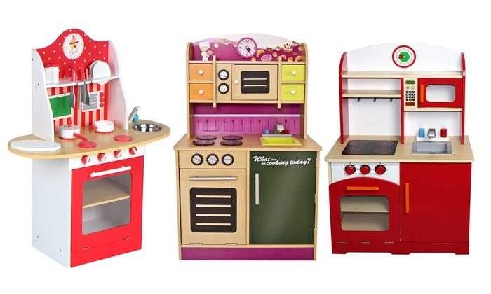 Cucina giocattolo in legno | Groupon