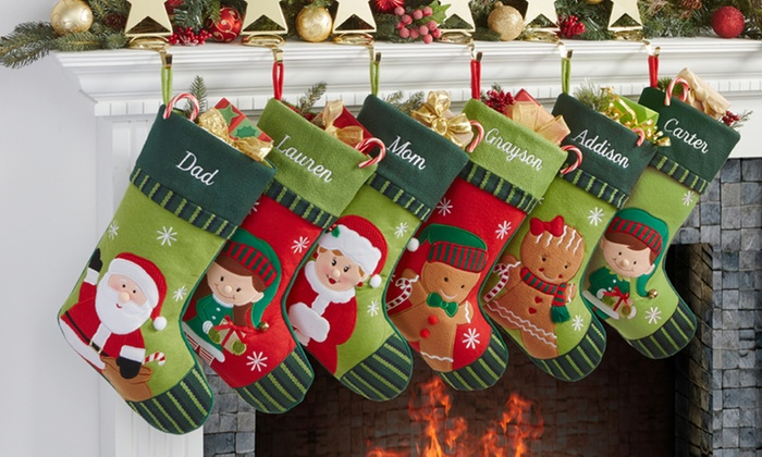 Christmas Stocking Personalized.Personalization Mall