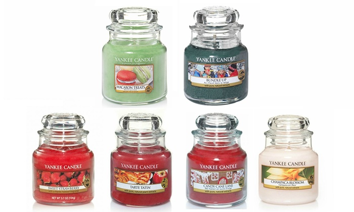 yankee candle duftkerzen im glas groupon goods. Black Bedroom Furniture Sets. Home Design Ideas