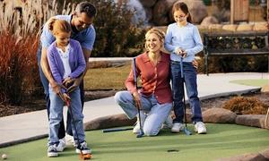 Mini Golf du Parc de la Tête Dor: Parcours pour 2 ou 4 personnes en semaine ou le weekend au mini golf du Parc de la tête d'or dès 9,90 €