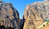 Málaga: hasta 3 noches con entradas a El Caminito del Rey