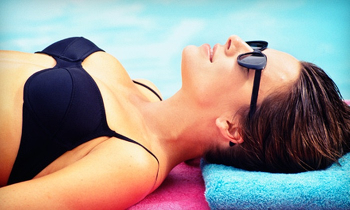 Always Tan - Wolcott: One Month of Unlimited Level 1 UV Tanning or Two or Four Airbrush Tans at Always Tan in Wolcott (Up to 55% Off)