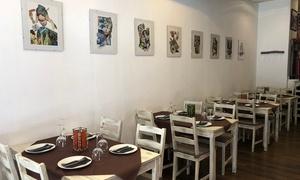 Restaurante en Ruzafa: Menú para 2 o 4 con entrantes, principal, postre, botella de vino o bebida desde 24,90 € en Restaurante Ruzafa