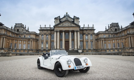 Worcestershire: 1 or 2 Nights with Morgan Car Hire