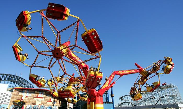 Luna park sydney rides height restrictions