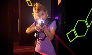 PowerLaser von FunSportEvents: 2 Runden Lasertag für ein, zwei oder vier Personen inklusive Leihausrüstung bei PowerLaser (bis zu 52% sparen*)