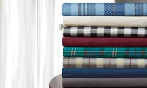 Clearance: Wexley Home 100% Cotton Flannel Sheet Set