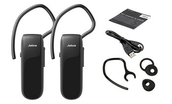Jabra Classic Voice Guidance GPS Music Headset (1- or 2-Pack)