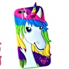 3D Soft Silicone Unicorn Case for iPhone 6, 7 or iPhone 6 Plus, 7 Plus