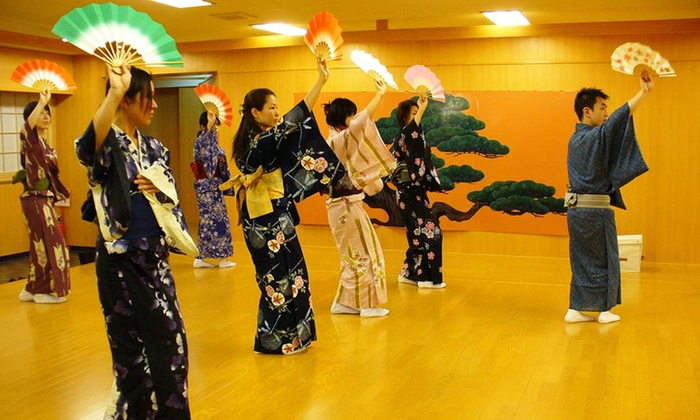 日本舞踊  扇寿流 - 日本舞踊  扇寿流 梅田教室: 2年振りのグルーポン登場。日本舞踊の基礎を学びながら、美しい立ち居振る舞いを学べる≪日本舞踊レッスン/5回分 or 8回分≫ @日本舞踊 扇寿流