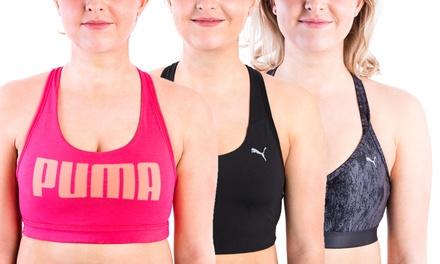 Pumasportbeha's in model naar keuze vanaf € 14,99