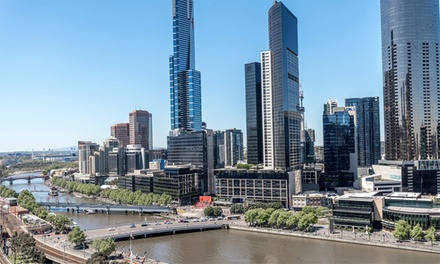 Melbourne, CBD: Up to 3Night Stay or 4 People with Late CheckOut at Best Western Riverside Serviced Apartments