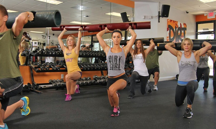 Dirt Fitness - Boca Raton: Individual or Family 30-Day Weight-Loss Challenge at Dirt Fitness (Up to 68% Off)