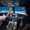 Lot na symulatorze samolotu