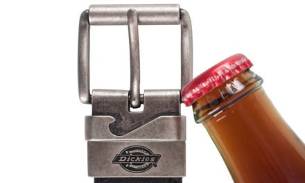 dickies belt with bottle opener buckle size s groupon. Black Bedroom Furniture Sets. Home Design Ideas