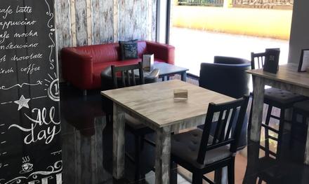 Merienda, desayuno o brunch para 2 o 4 desde 6,90 € en Eco Gastro-Bar Sabil