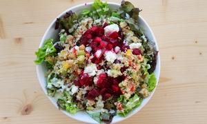 URBAN Fu:D Bahnhofstraße: Salat-Bowl inkl. Getränk nach Wahl für eine oder zwei Personen bei Urban Fu:D Bahnhofstraße (bis zu 50% sparen*)