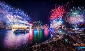 Afloat Cruises International: $499 for New Year's Eve Cruise + Food, Drinks and Entertainment with Afloat Cruises International (Up to $699 Value)