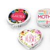 Up to 85% Off Custom Heart or Oval Shaped Compact Mirrors