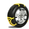 Antislip Snow Chains for Cars, SUVs, and Trucks