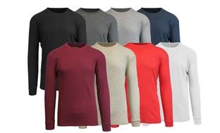 Men's Crewneck Thermal Shirts (2-Pack)!