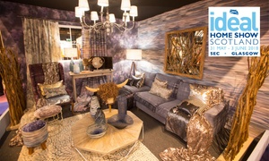 Ideal Home Show Scotland: The Ideal Home Show, 31 May–3 June at the SEC, Glasgow (Up to 57% Off)