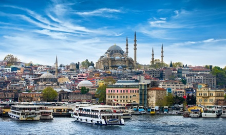 ✈ Istanbul : 3 ou 4 nuits à l'hôtel Tayhan avec petitdéjeuner et vols A/R depuis Paris Orly ou Marseille
