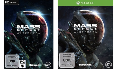 Mass Effect: Andromeda-Spiel für PC, PS4 oder Xbox One