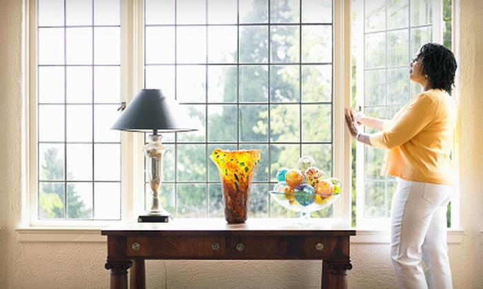 Paneless Window Cleaning - Paneless Window Cleaning: Interior and Exterior Window Cleaning for 20 or 30 Windows from Paneless Window Cleaning (Up to 70% Off)