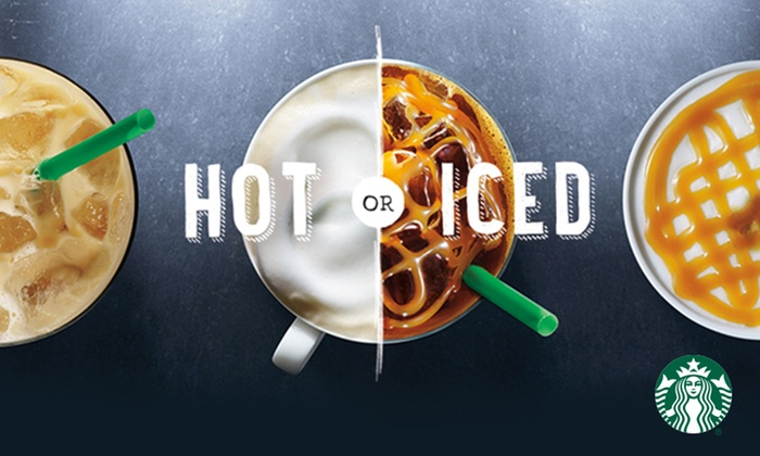 Starbucks: $5 for a $10 Starbucks eGift Card