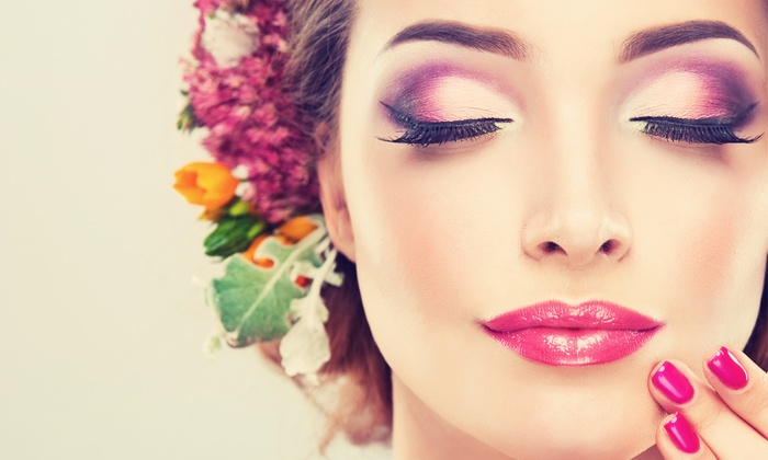 All Dolled Up - All Dolled Up: Eyebrow, Lip Wax, or Makeup Services at All Dolled Up (Up to 55% Off)