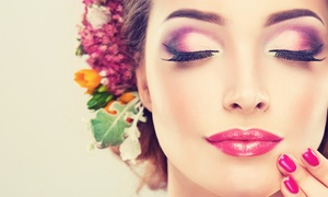 All Dolled Up: Eyebrow, Lash, Lip Wax, or Makeup Services at All Dolled Up (Up to 55% Off)