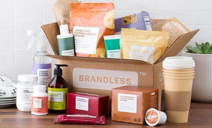 $40 Value to Shop 300+ Everyday Essentials at Brandless