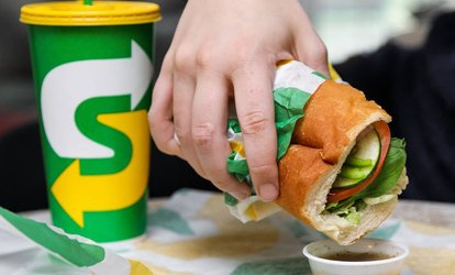 20% Cash Back at Subway