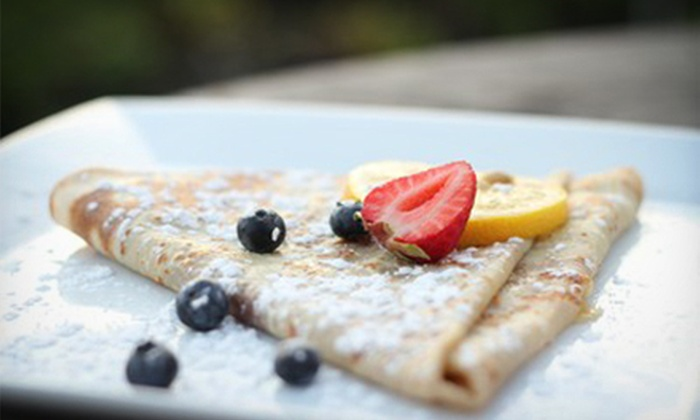 Chez Machin - Sunnyside: Crepes and French Dinner or Breakfast and Lunch Cuisine at Chez Machin (Half Off)