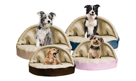 Snuggery Orthopedic Pet Bed for Dogs and Cats