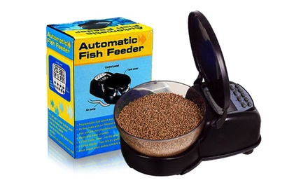 $29 for a 99 Days Automatic Fish Feeder (Don't Pay $98.99)