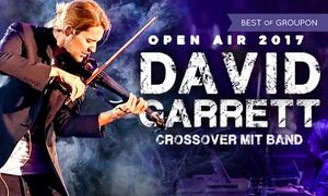 mruss tickets: 2 Tickets für David Garrett mit Band am Sa., den 24. Juni ab 20 Uhr in Sindelfingen (25% sparen)