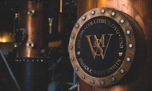 Distillery Tour and Tasting for One or Two at Middle West Spirits (Up to 40% Off). Six Options Available.
