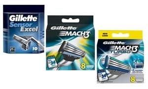 Gillette Mach3 et lames de rasoir