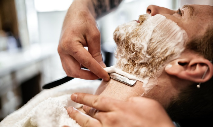 Barbershop Reigate - Reigate: Beard Spa Treatment or Hot Towel Shave with Deluxe Option at Barbershop Reigate (Up to 45% Off)