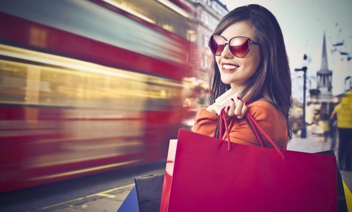 Londres :1 journée libre de shopping en weekend avec transport A/R en bus au départ de 31 villes pour 1 personne