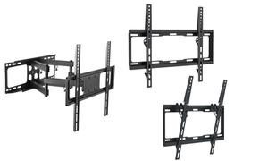 """Argom Fixed, Tilt, or Full Motion Wall Mounts for 23""""-70"""" TVs"""