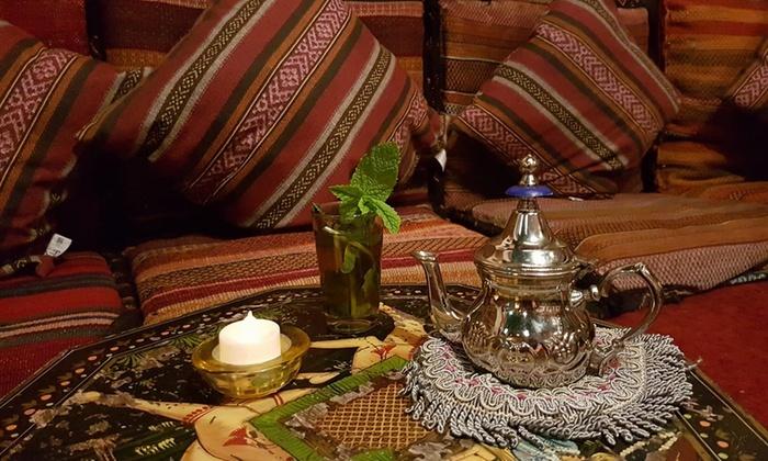 2, 4, 5 o 6 bebidas a elegir con 2, 4, 5 o 6 dulces árabes y una shisha desde 14,95 € en Habel Babel
