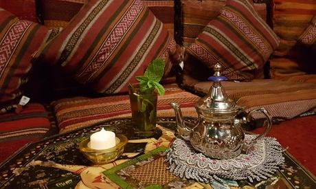 2, 4, 5 o 6 bebidas a elegir con 2, 4, 5 o 6 dulces árabes y una shisha desde 14,95 € en Habel Babel Oferta en Groupon
