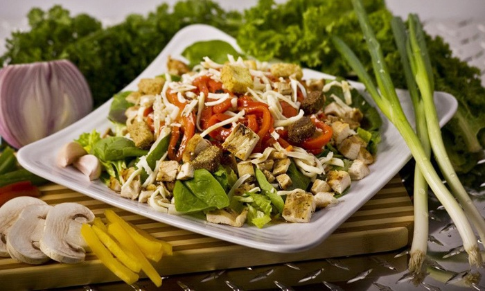 Muscle Maker Grill - Elizabeth: Healthy Food or Meal Plan at Muscle Maker Grill (50% Off). Four Options Available.