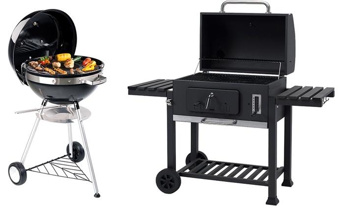 Tepro Toronto Xxl Holzkohlegrill Preisvergleich : Kugelgrill oder grillwagen groupon goods
